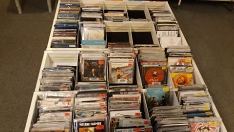 Notre collection de CDs